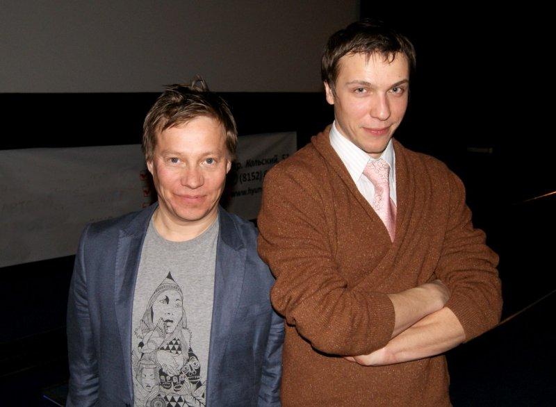 Игорь Шайтанов справа